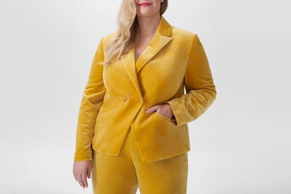 Universal Standard Bianca Velvet Blazer