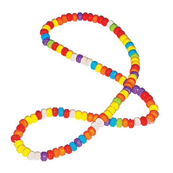 "<b>Candy Necklace:</b>    <b><a href=""http://www.itsugar.com/"">It'Sugar</a></b>    <i>10 Fulton St., nr. Front St.; 212-514-5373</i>    This exploding national chain, opened by a Dylan's co-founder in 2006, takes a more-is-more approach—think throwback sweets in louder shades and jumbo sizes. While your typical candy necklace is more of a choker, this style ($2.50) drapes a full foot."