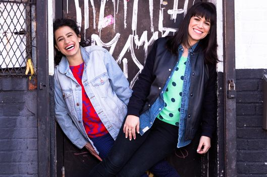 Ilana Glazer and Abbi Jacobson of Broad City.