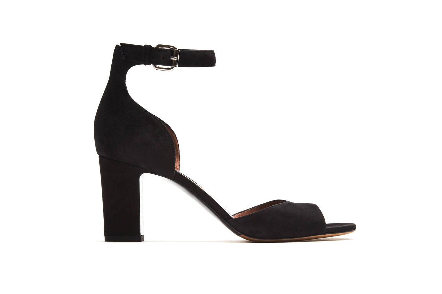 Tabitha Simmons Jerry Black Kid Suede Pumps