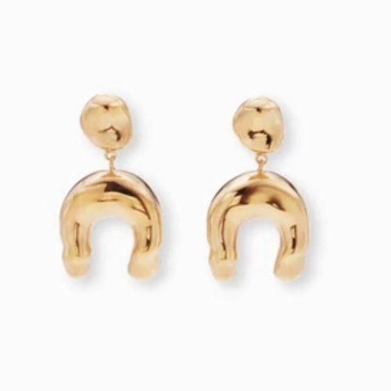 Agmes Wishbone Earrings