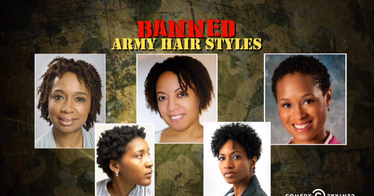 Military Haircut For Women