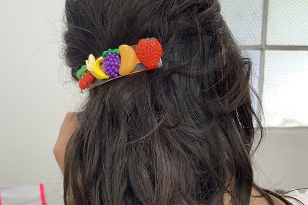 Cloud Hunter Fruit Salad Barrette