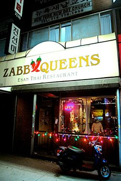 Zabb Elee Is 'Best Isan Thai Food in Manhattan,' But Gets Shut Down in Queens