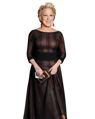 Two-time Oscar-nominated actress Bette Midler arrives at the Governor's Ball following the 86th Academy Awards on March 2nd, 2014 in Hollywood, California.