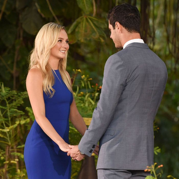 Lauren Bushnell and Ben Higgins.