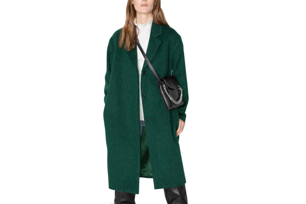 & Other Stories Wool and Mohair Coat