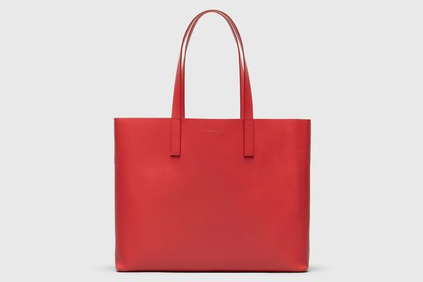 Everlane The Day Market Tote in Red