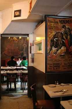 Murals at the restaurant, which opened in 1927, are likely almost just as old.