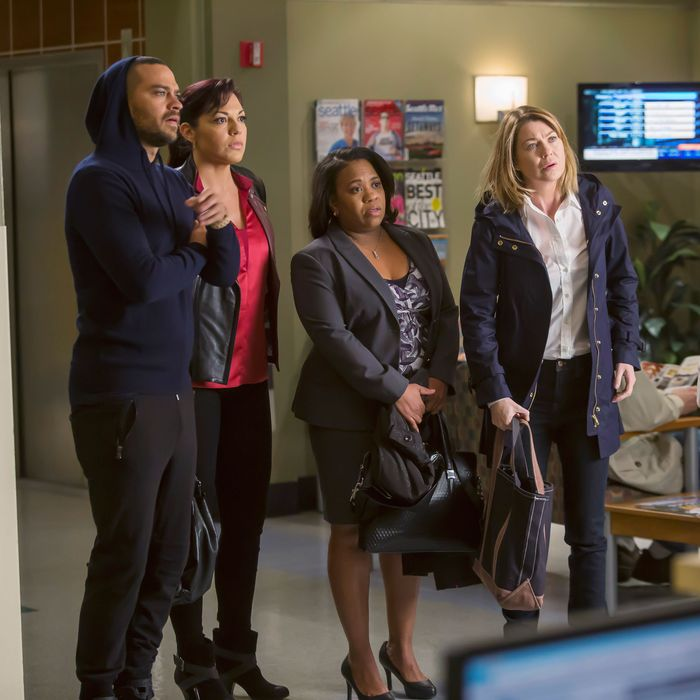 JESSE WILLIAMS, SARA RAMIREZ, CHANDRA WILSON, ELLEN POMPEO