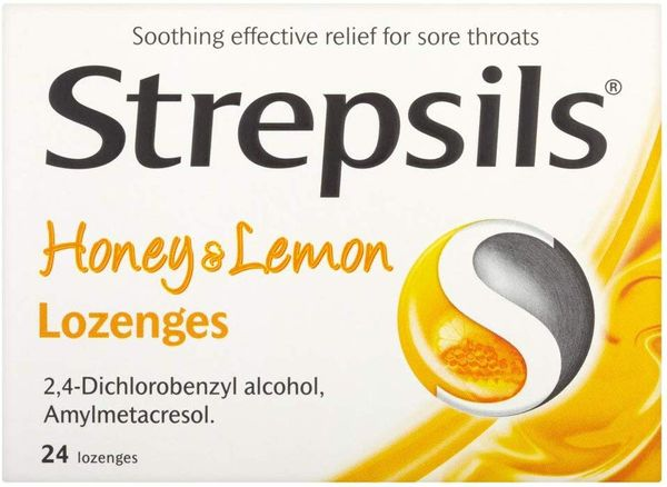 Strepsils Honey and Lemon Lozenges