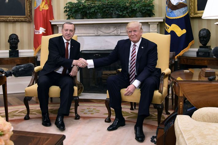 Image result for IMAGES OF ERDOGAN IN WHITE HOUSE