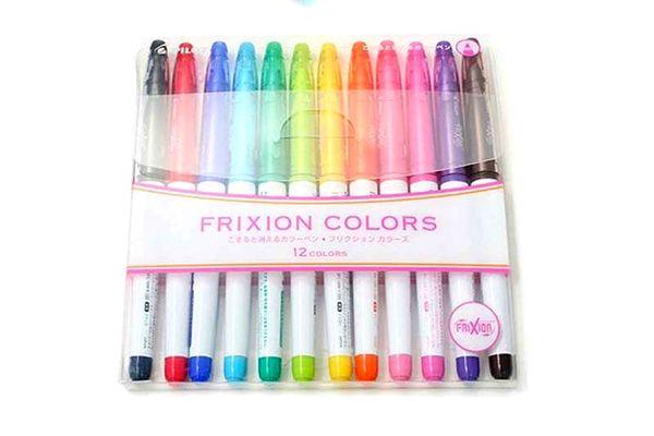 Pilot Frixion Colors Erasable Marker - 12 Color set
