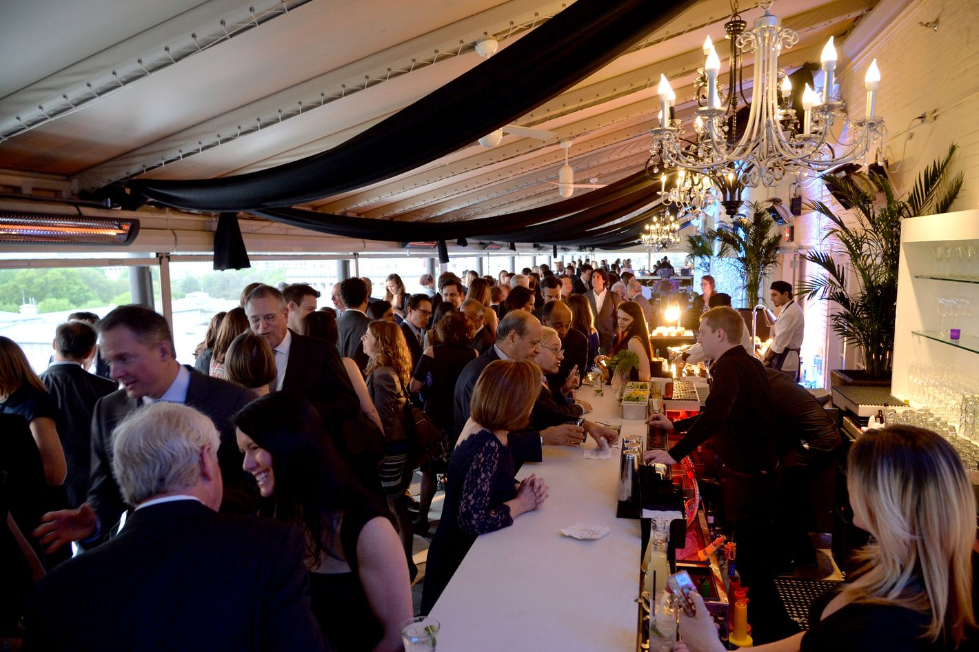 WASHINGTON, DC - MAY 02:  A general view of atmosphere at the White House Correspondents' Dinner Weekend Pre-Party hosted by The New Yorker's David Remnick at the W Hotel Washington DC on May 2, 2014 in Washington, DC.  (Photo by Andrew H. Walker/Getty Images for The New Yorker)