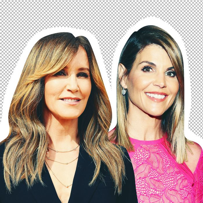 0dbae3a6dbe Felicity Huffman and Lori Loughlin. Photo  Getty Images. Today ...