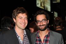 "Actor Mark Duplass and Director Jay Duplass  arrives at ""Jeff, Who Lives At Home"" Premiere at The Elgin during the 2011 Toronto International Film Festival on September 14, 2011 in Toronto, Canada."