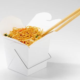 Chinese Chow Mein in Take Out Container