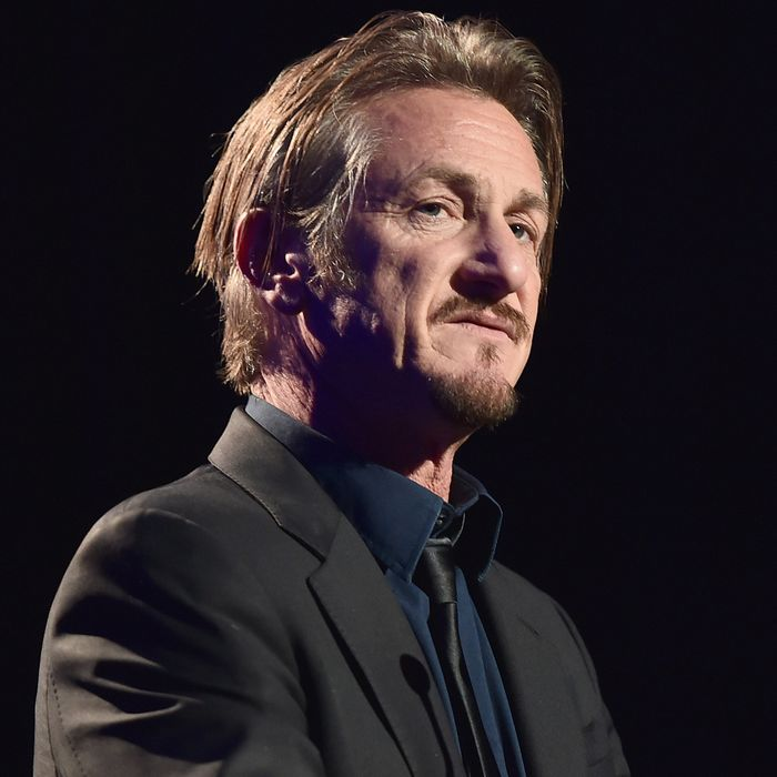 Role model Sean Penn.