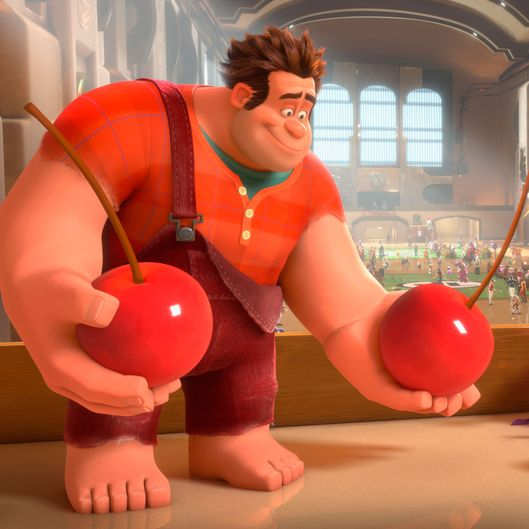 "FILE - This publicity film image released by Disney shows Ralph, left, voiced by John C. Reilly in a scene from ""Wreck-It Ralph."" The Disney animated film has been nominated for an Academy Award in the Animated Feature Film category. The 85th Academy Awards are on Sunday, Feb. 24, 2013 in Los Angeles. (AP Photo/Disney, File)"