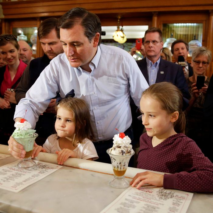 Ted Cruz and his spawn