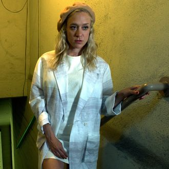 AMERICAN HORROR STORY: HOTEL -- Pictured: Chloe Sevigny as Alex Lowe. CR: Frank Ockenfels/FX