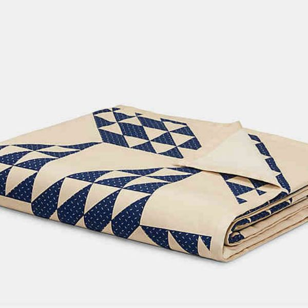 Calvin Klein Vintage Eight-Point Star Throw Blanket
