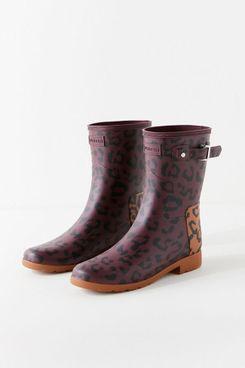 Hunter Refined Hybrid Print Short Rain Boot