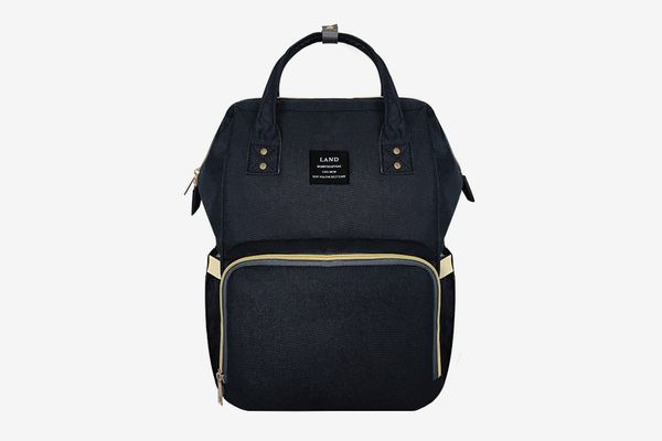 LAND Maternity Mommy Baby Diaper Bag Backpack with insulated pockets Navy 2019