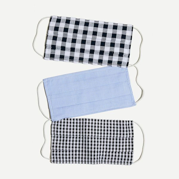 J. Crew Face Masks in Mixed Prints