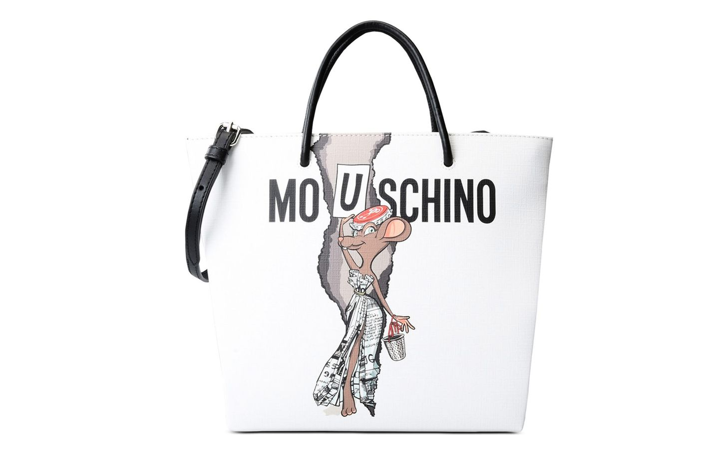 1c26d5a06ccc best tote. Moschino capsule collection shopping bag. ""