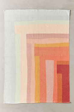 Urban Outfitters Mae Geo Patchwork Printed Rug - 5x7