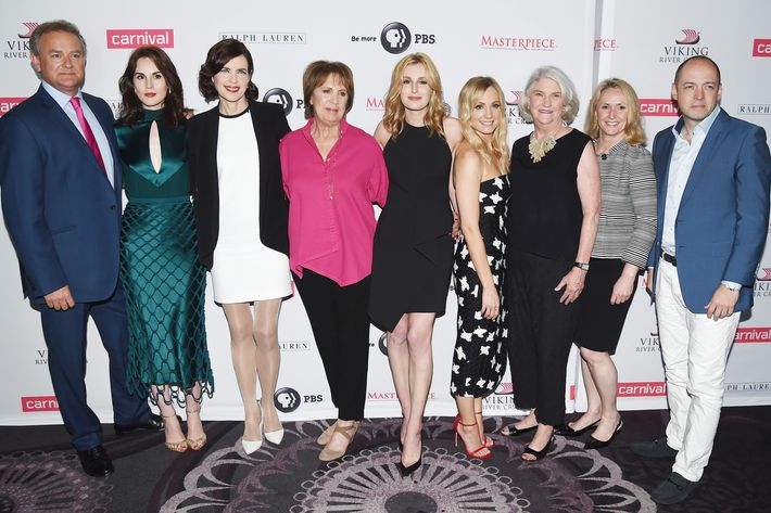 Downton Abbey' Cast Photo Call