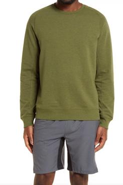 Zella Crewneck Fleece Sweatshirt