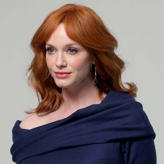 WEST HOLLYWOOD, CA - MAY 29:  Actress Christina Hendricks poses for a portrait during the Variety Studio powered by Samsung Galaxy at Palihouse on May 29, 2014 in West Hollywood, California  (Photo by Jonathan Leibson/Getty Images for Variety)