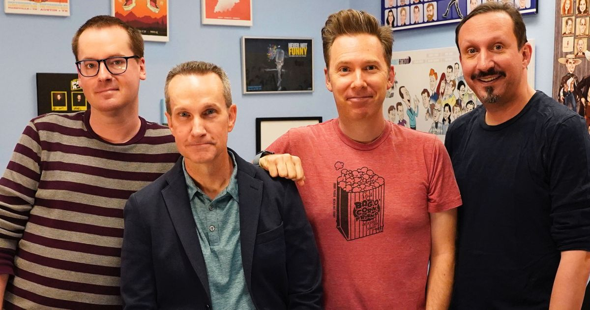 This Week in Comedy Podcasts: Never Not Funny's 1,000th Episode
