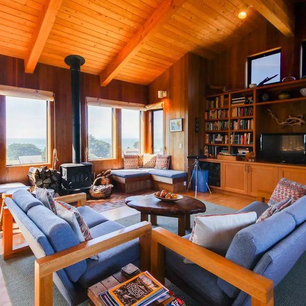 Oceanview Home in Sea Ranch, California