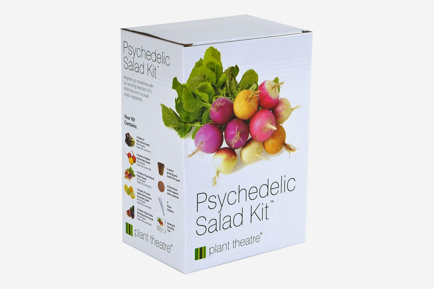 Plant Theatre Psychedelic Salad Kit