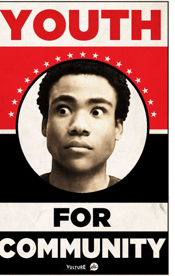 Save Community Donald Glover