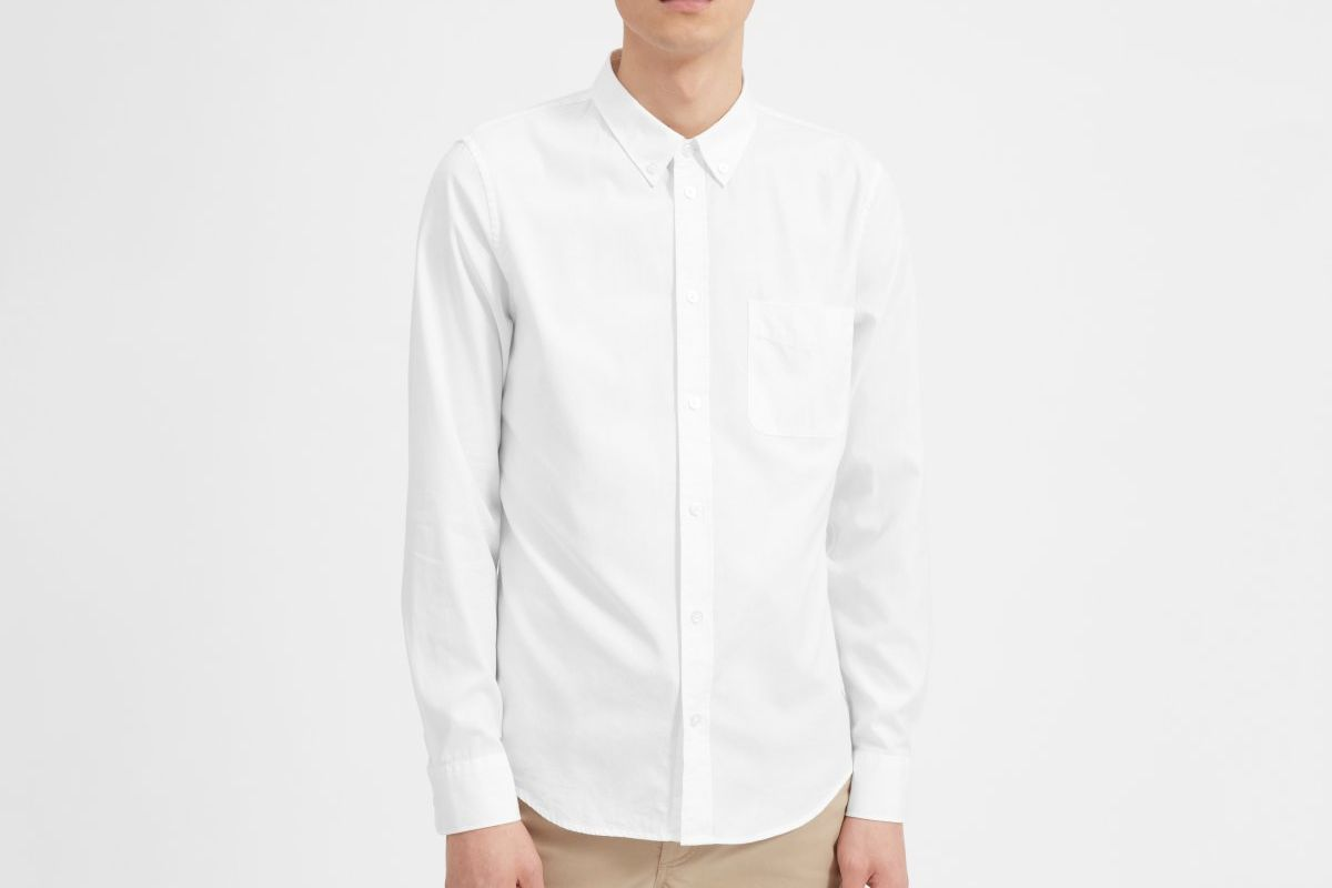 47e53581d510 10 Best White Oxford Shirts for Men 2019