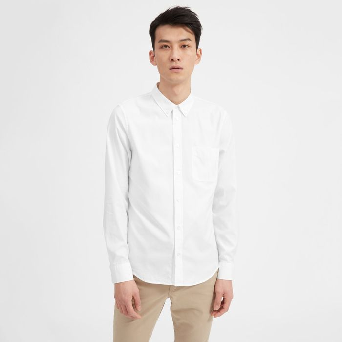 e629aad7 What Are the Best White Oxford Shirts for Men?