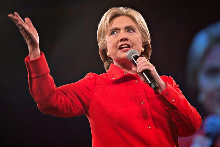 """Hillary """"I love fun"""" Clinton."""