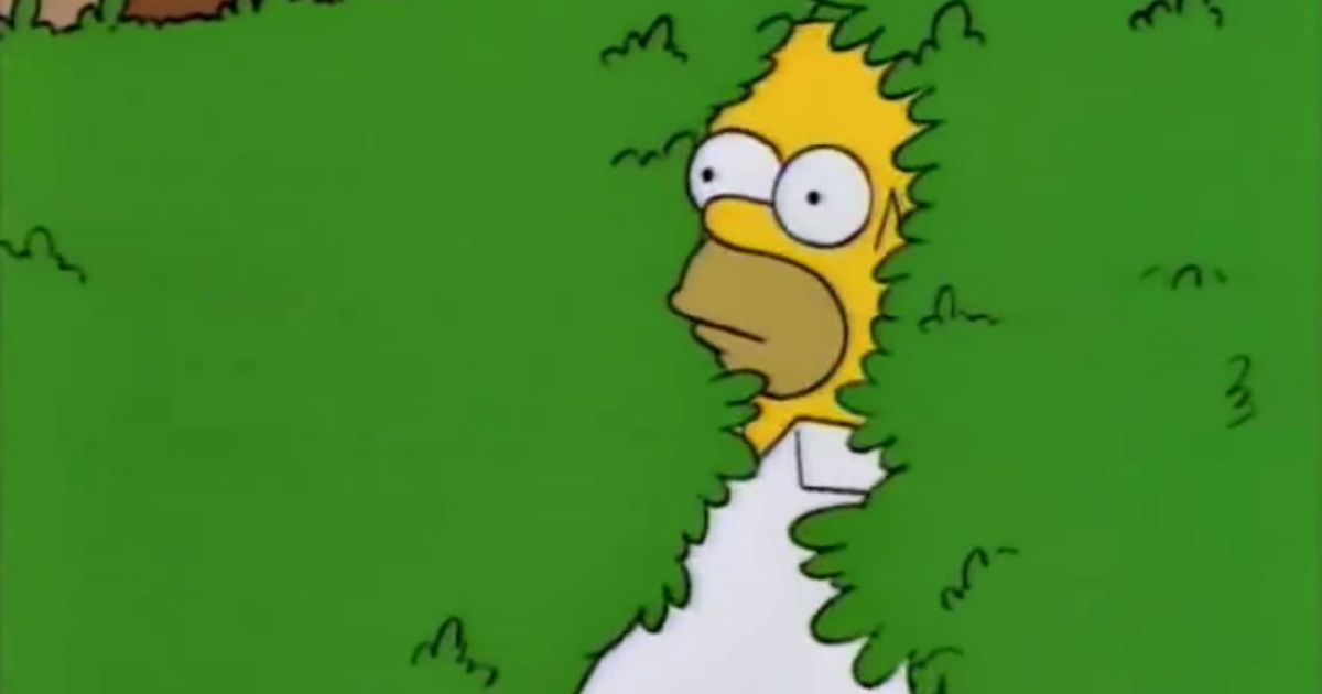 The Full-Circle Journey of 'Homer Simpson Backs Into the Bushes'