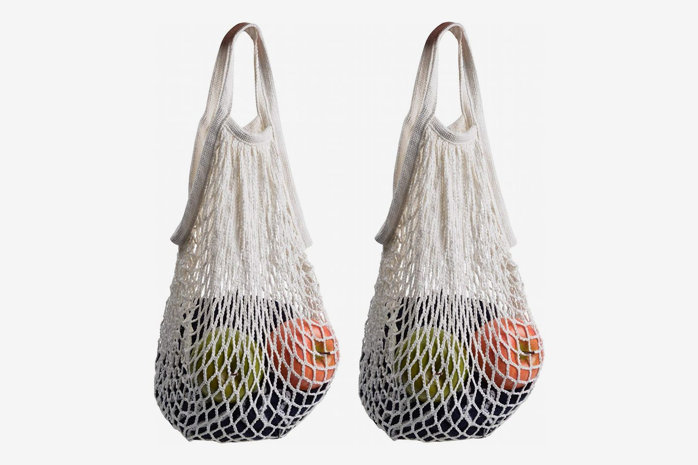 STONCEL Cotton Net Shopping Tote
