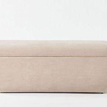 CB2 Clutch Mauve Bench