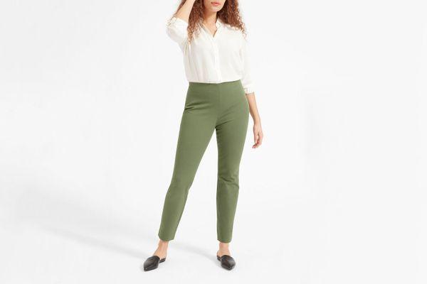 Everlane Regular Side-Zip Work Pant
