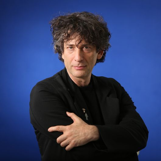 EDINBURGH, SCOTLAND - AUGUST 24:  Neil Gaiman, English author of short fiction, novels, comic books, graphic novels, audio theatre and films, appears at a photocall prior to an event at the 30th Edinburgh International Book Festival, on August 24, 2013 in Edinburgh, Scotland. The Edinburgh International Book Festival is the worlds largest annual literary event, and takes place in the city which became a UNESCO City of Literature in 2004.  (Photo by Jeremy Sutton-Hibbert/Getty Images)