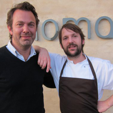 Adam Sachs (with pal René Redzepi) will take over the top spot on the masthead.