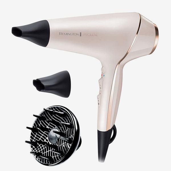 Remington Proluxe Ionic Hairdryer with Styling Shot and Intelligent OPTIHeat Control Settings AC9140 (2400 W)