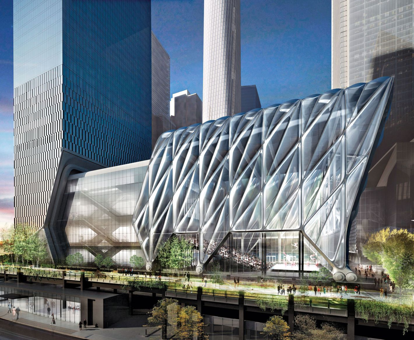 Hudson Yards Is a Billionaire's Fantasy City