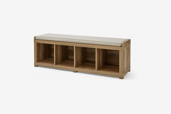 Better Homes and Gardens 4-Cube Organizer Storage Bench